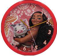 Настенные часы Детские Моана круглые кварцовые KIDS Euroswan