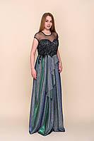 Вечернее нарядное платье длинное в пол для праздника. Размеры 42\46, 44\48, 46\50, фото 1