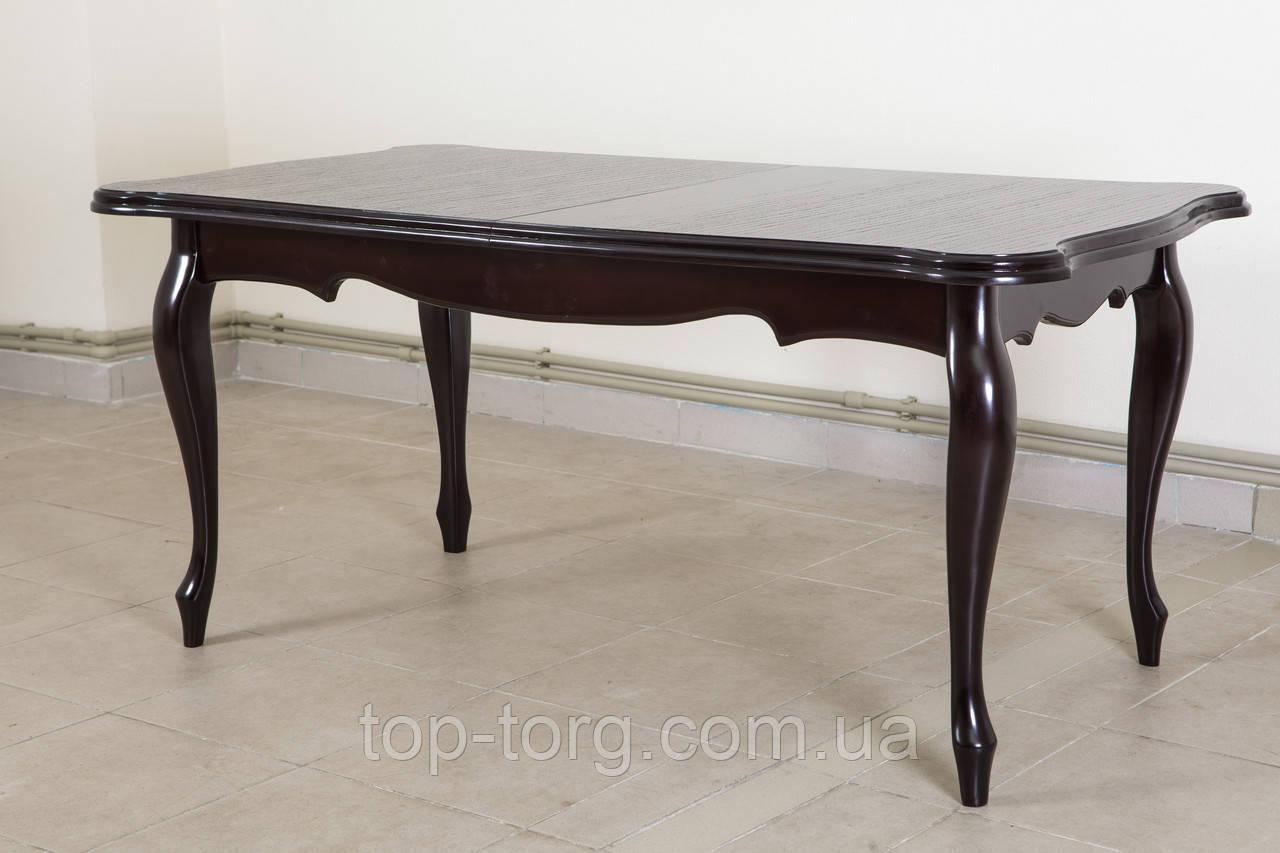 Стіл Royal 1600(+400)*900 (Рояль)венге і темний шоколад горіх