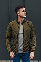 Куртка демисезонная мужская 066 хаки (S ,  M ,  L ,  XL ,  XXL)