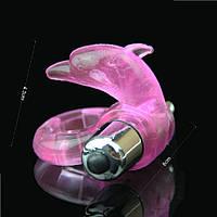 Мужское Эрекционное кольцо на пенис дельфин