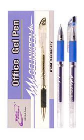 Ручка гелева 601B 0,5 mm синя