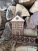 "Ключница деревянная ""Тут живе любов"" тёмная, фото 4"