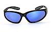 Защитные зеркальные спортивные очки Global Vision Hercules-1 синие