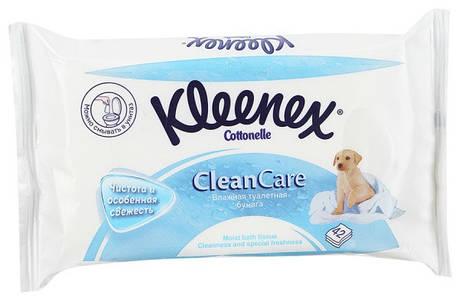Kleenex влажная туалетная бумага 42 шт (сменный блок), фото 2
