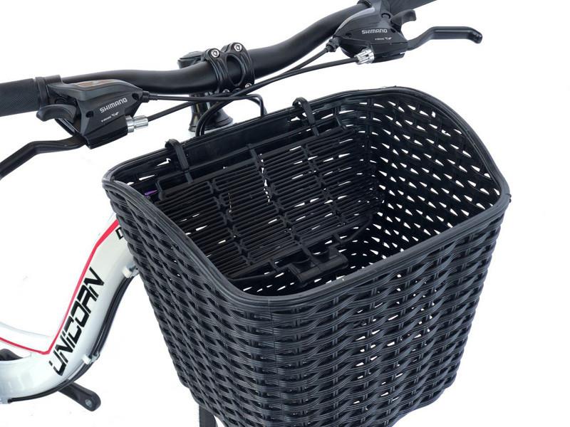 Велосипедная корзина черная