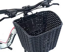 Велосипедна кошик чорна
