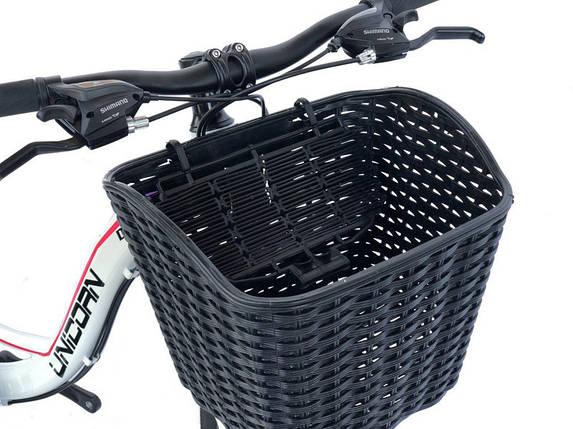 Велосипедная корзина черная, фото 2