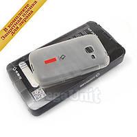 Capdase Силиконовый чехол (+пленка) для Samsung S6802 Galaxy Ace duos Белый