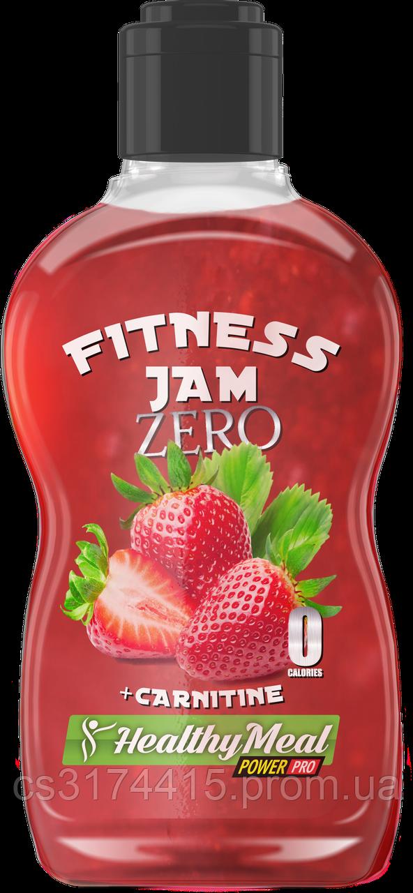 Фитнес-Джем Zero с карнитином Power Pro  Клубника (200 грамм)