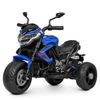 Детский мотоцикл на аккумуляторе M 4152EL-4 синий, фото 1