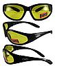 Защитные спортивные очки Global Vision Hercules-1 желтые