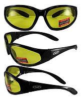 Защитные спортивные очки Global Vision Hercules-1 желтые, фото 1
