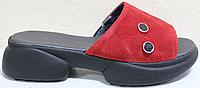Сабо замшевые женские открытые от производителя модель СА3057, фото 1