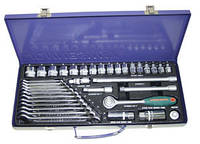 "Набор торцевых головок 3/8""DR 6-22 мм и комбин. ключей 7-17 мм, 36 предметов S04H3536S (Jonnesway, Тайвань)"