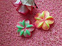 Мыло цветок плюмерия ручной работы сувенирное мыло