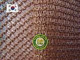 Сетка затеняющая, Бежевая 4,20м ширина, нужная Вам длинна 90%, фото 5