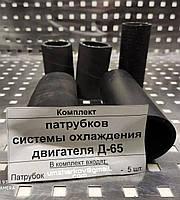 Комплект патрубков системы охлаждения двигателя д-65