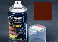Аерозольна фарба для гладкої шкіри Saphir Tenax Spray, 150 мл Коньяк