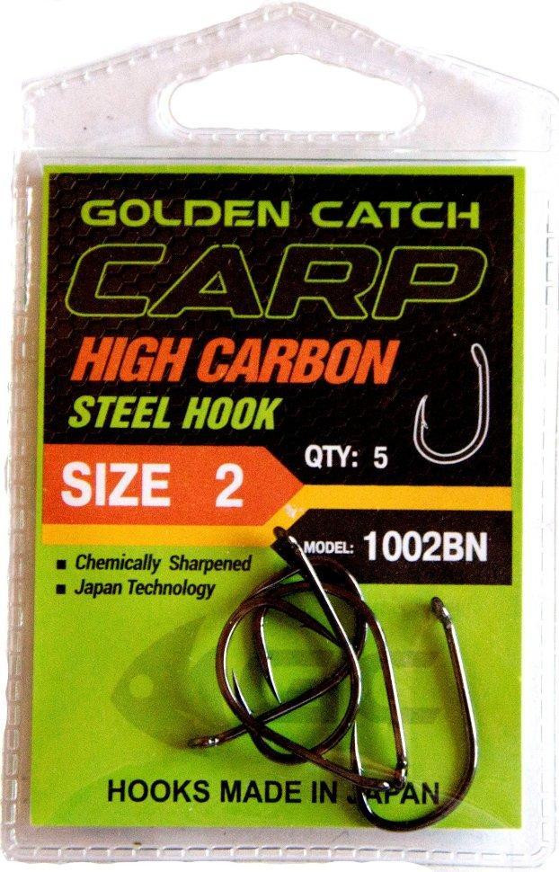 Крючок GC Carp 1002BN №6(9шт)