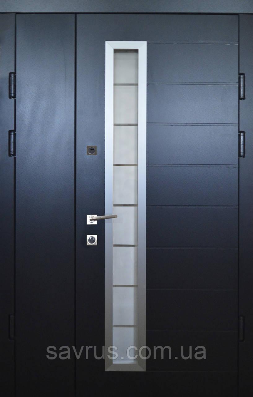 Двері ХАЙ-ТЕК  117  №20-44  ПВХ-58P  R