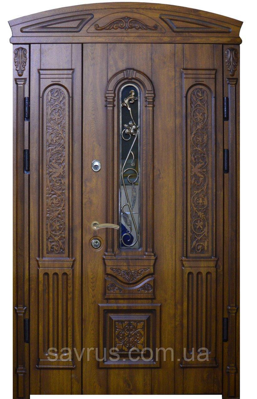 Двері АКЦІЙНІ 117 №138АС  ПВХ-90 L + карниз