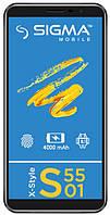 Мобильный телефон Sigma mobile X-style S5501 Black 4G