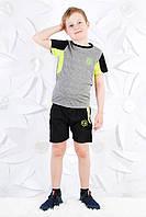 Спортивный комплект для мальчиков с шортами.Размеры 8-12 лет ,Фирма S&D.Венгрия