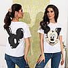 Женская футболка 35-mickey