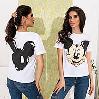 Женская футболка 35-mickey, фото 1