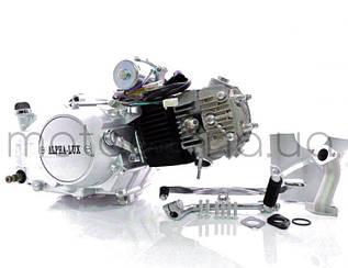 Двигатель Альфа/Дельта/Актив 110 52.4 мм механика в сборе (мотор)