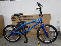 BMX велосипед трюковый Crosser 20 дюймов Новинка 2021 BLUE