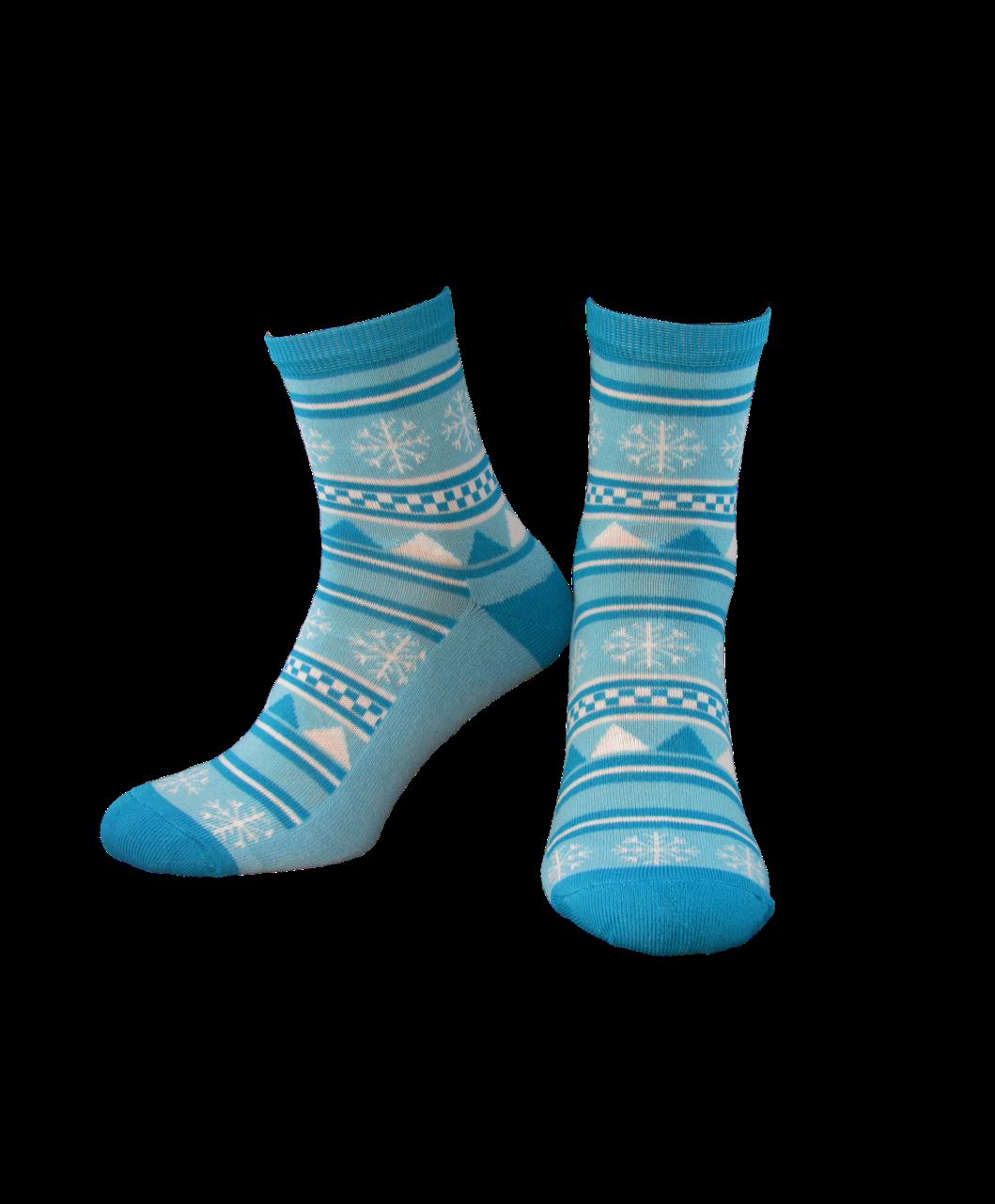 Шкарпетки жіночі Лонкаме 1504 001 блакитний