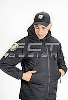 Куртка Ветровка Патрол Непромокаемая для Полиции с Липучками на сетке, фото 1