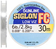 Флюорокарбон Sunline Siglon-FC 30m 0.20 mm 2.8 kg поводковий