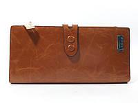 Кошелек кожаный женский JCCS 1079 коричневый, расцветки, фото 1