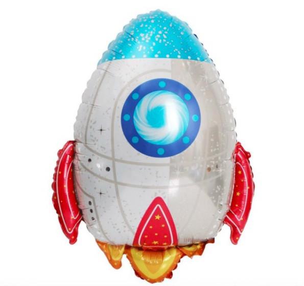 Фольгована кулька велика фігура Ракета 64х54см Китай