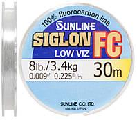Флюорокарбон Sunline Siglon-FC 30m 0.225 mm 3.4 kg поводковий