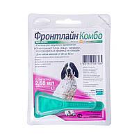 Merial Frontline Combo капли для собак Фронтлайн Комбо от 20 до 40 кг - 1 пипетка