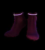 Носки женские Легка Хода 5077, Бордовый, 23