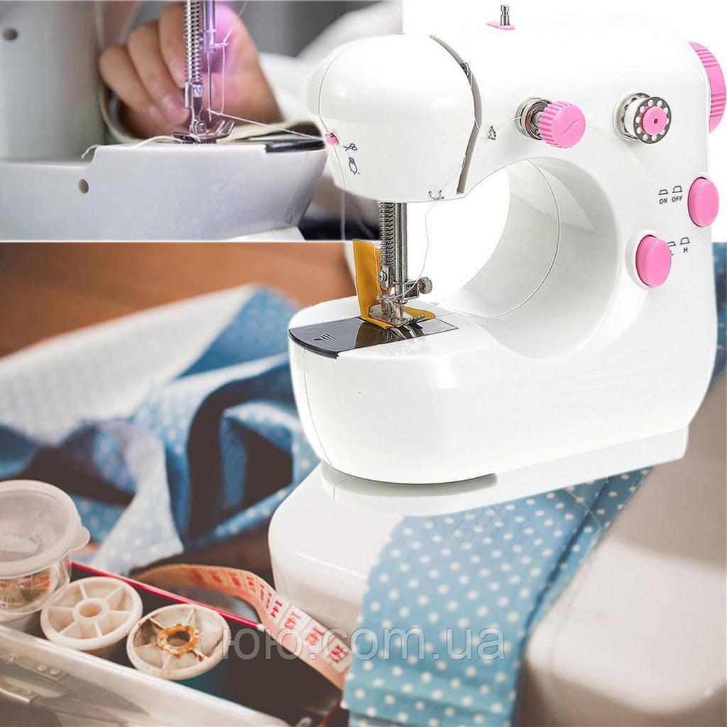 Мини машинка швейная sewing machine jysm-301