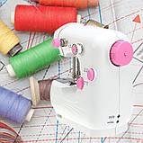 Мини машинка швейная sewing machine jysm-301, фото 6