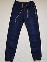 Утеплённые,ДЖИНСОВЫЕ брюки ДЖОГГЕРЫ для мальчиков ,.Размеры 146-158 см.Фирма KE YI QI .Венгрия