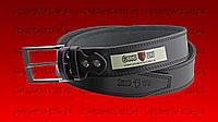 Ремень джинсовый-40mm-черная строчка GW