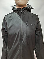 Мужская весенняя кофта ветровка легкая в стиле Puma / черная