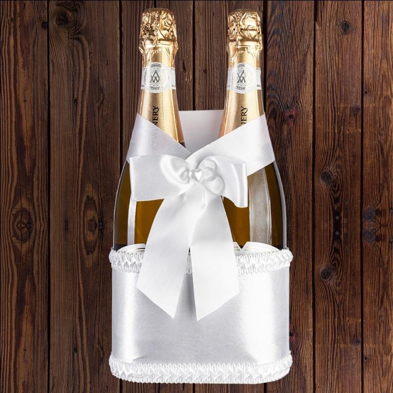 Заготовка корзинки для бутылок шампанского (на 2 бутылки), арт. BFB-31