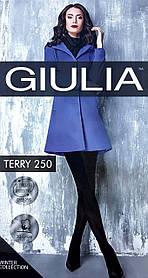 Колготки женские Giulia TERRY 250, nero, 2