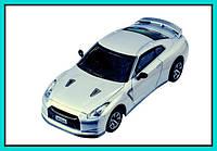 Машинка ShenQiWei микро р/у 1:43 лиценз. Nissan GT-R (серый) автомобиль на радиоуправлении на подарок мальчику