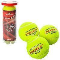 Набор мячей для большого тенниса 6,5см, MS 1248