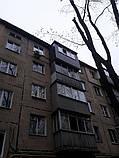 Наружная (внешняя) обшивка балкона профлистом (профнастилом), фото 2